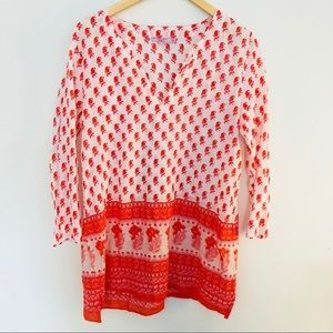 Calypso St barth printed tunic